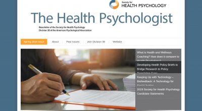 The Health Psychologist Newsletter