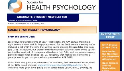 SfHP Graduate Student Newsletter