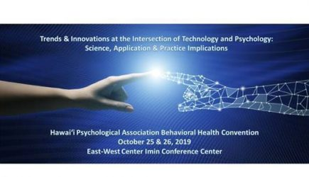 Hawai'i Psychological Association Behavioral Health Convention