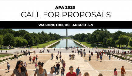 Submit your APA 2020 Convention Proposal