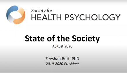 Presidential Address: State of the Society 2020