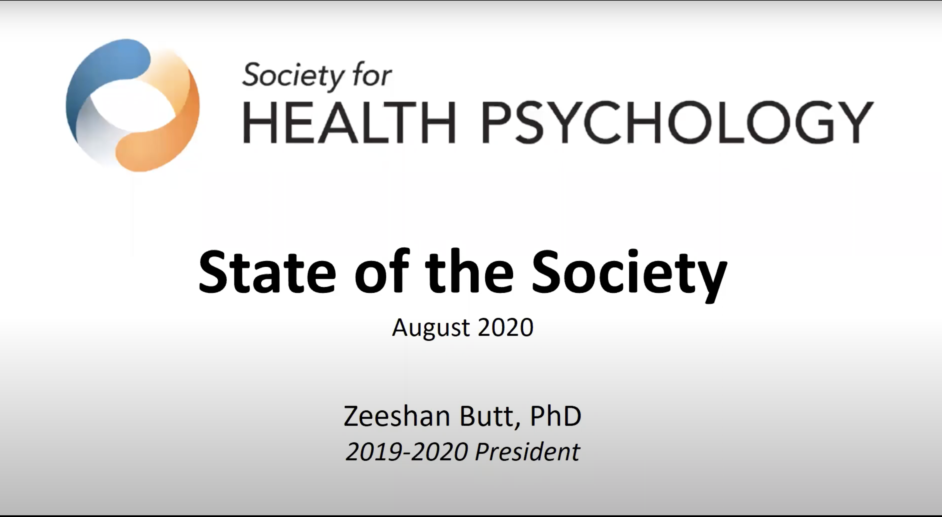 """Featured image for """"Presidential Address: State of the Society 2020"""""""
