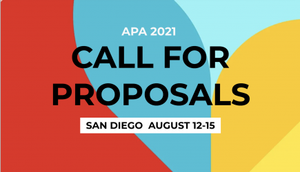 APA 2021 Call for Proposals