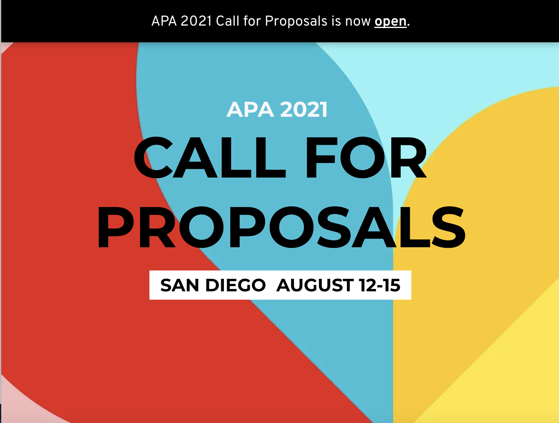 """Featured image for """"APA 2021 Call for Proposals"""""""